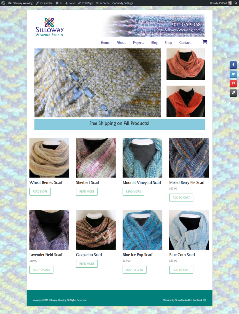 Silloway Weaving Home Page